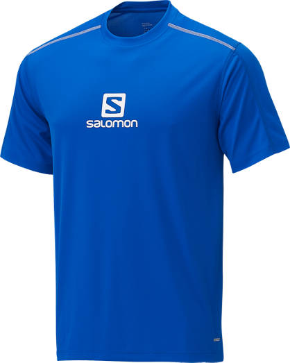 Salomon Stroll Logo SS Hommes Shirt Outdoor