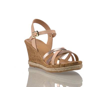 Varese Varese Aprile sandalette haute femmes