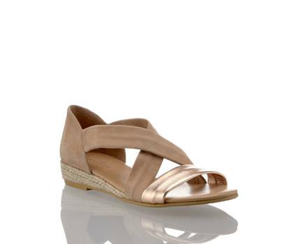 Varese Varese Isabella sandalette plate femmes
