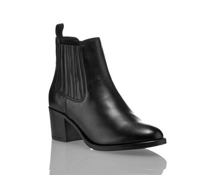 Varese Varese Roll chelsea boot femmes noir