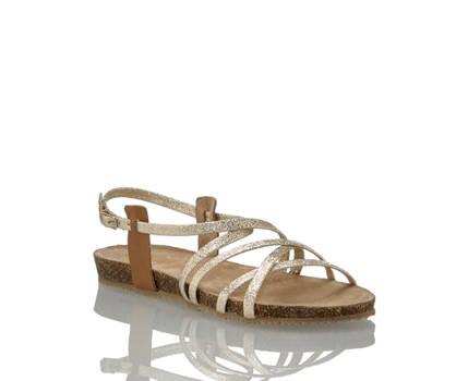 Varese Varese Zita sandalette plate femmes