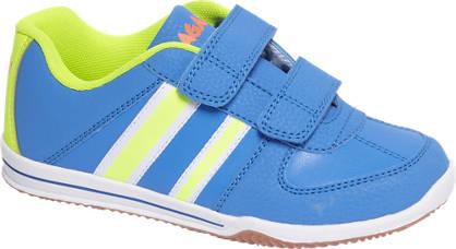 Agaxy Blauwe sneaker neon
