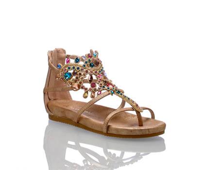 Alma en Pena Alma en Pena Damen Flache Sandalette