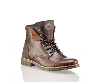 AM Shoe Am Shoe boot à lacet hommes brun