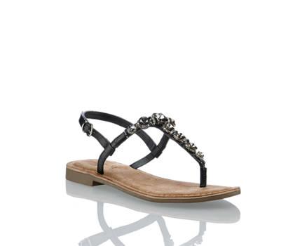 Lazamani Amani Femmes Sandalette plate