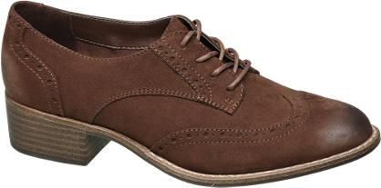 Graceland Barna perforált dandy cipő