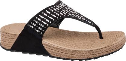 Blue Fin Gem Toe Post Sandal