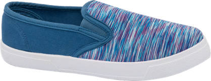 Blue Fin Multi Colour Slip On