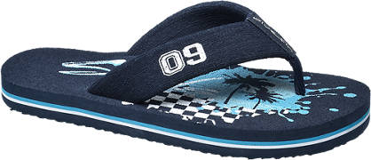 Blue Fin Toe Post Sandal