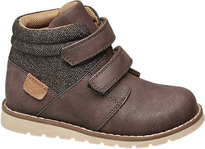 Bobbi-Shoes Toddler Boy Twin Strap Ankle Boots