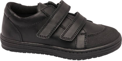 Bobbi-Shoes Toddler Boy Leather Twin Strap Shoes