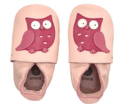 Bobux New Zealand Bobux Owl Mädchen Slipper Rosa