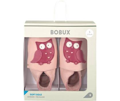 Bobux New Zealand Bobux Owl slipper filles rose