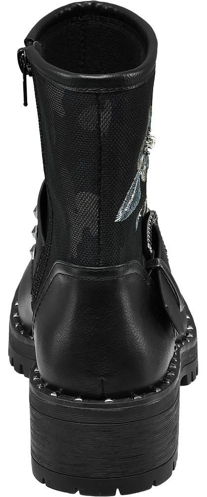 Catwalk Boots schwarz, grau