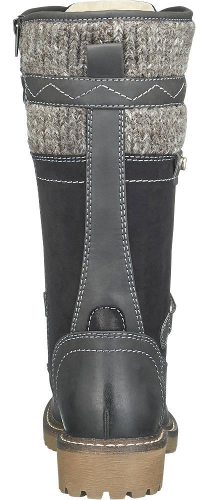 Landrover Boots grau, schwarz