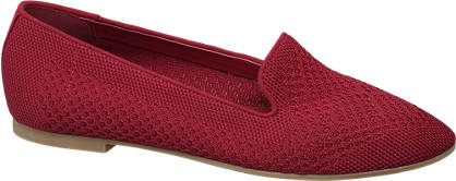 Graceland Bordó női loafer