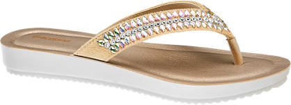 Graceland Bézs színű flip flop