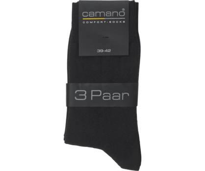 Camano Camano Herren Socken 3 pack 39-42