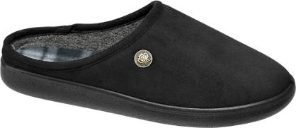 Casa mia Mens Soft Mule Slippers