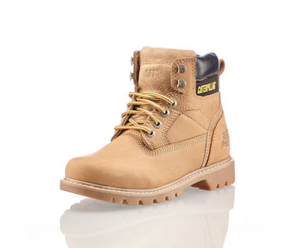 Caterpillar Caterpillar Willow boot à lacet femmes beige