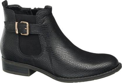Graceland Chelsea Boots - Reptil-Look