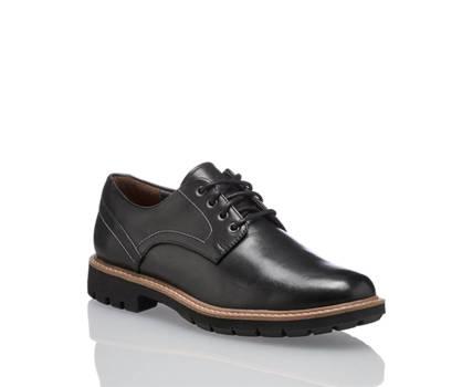 Clarks Clarks Batcomb Hall chaussure à lacet hommes noir