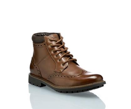 Clarks Clarks Curington Rise boot à lacet hommes brun