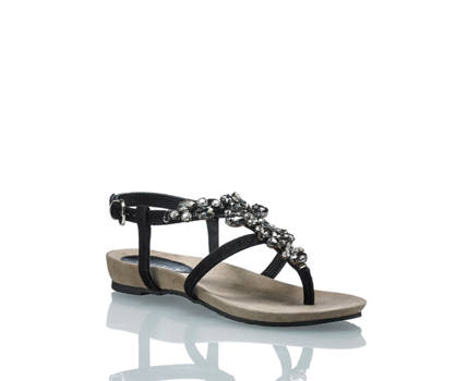 Lazamani Amani sandaletto flat donna