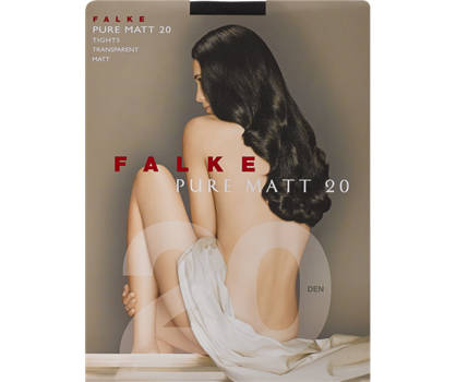 Falke Flake 1 Pair Pure Matt 20 TI Calze Donna S/M; M/L; XL