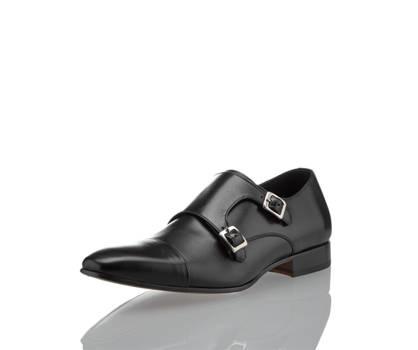Mathew & Son Mathew & Son Double Monk scarpa da business uomo