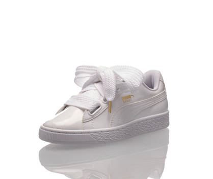 Puma Puma Basket Heart Patent Donna Sneaker