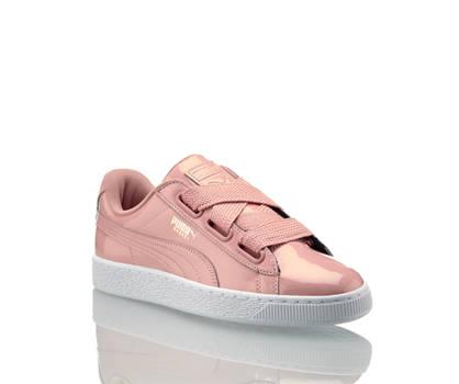 Puma Puma Basket Heart Patent sneaker donna