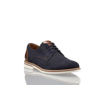 Varese Varese Carlo calzature da allacciare uomo blu navy