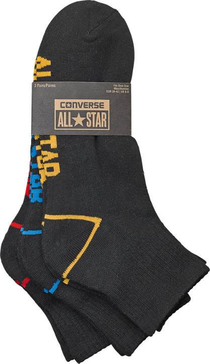 Converse Converse Socken 3er Pack Unisex 39-46