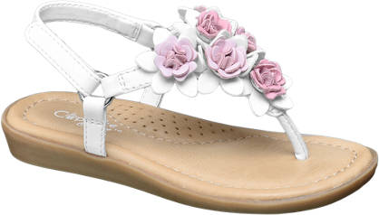 Cupcake Couture 3D Flower Sandal