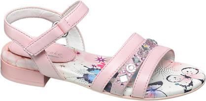 Cupcake Couture Pattern & Gem Sandal