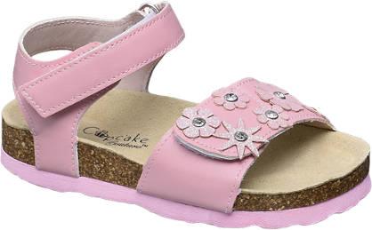 Cupcake Couture Flower & Gem Sandal