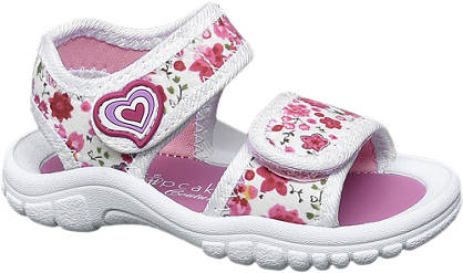 Cupcake Couture Floral Strap Sandal
