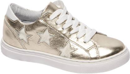 Cupcake Couture Gouden leren sneaker sterren
