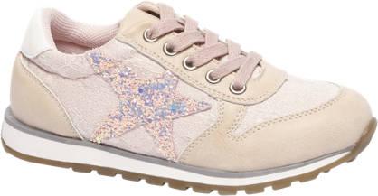 Cupcake Couture Licht roze sneaker glitters
