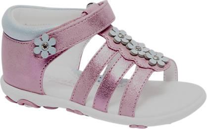 Cupcake Couture Roze sandaal bloemen