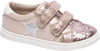 Cupcake Couture Roze sneaker pailletten
