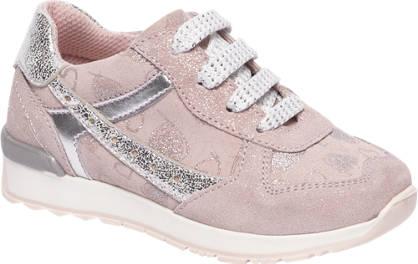 Cupcake Couture Roze suède sneaker glitter