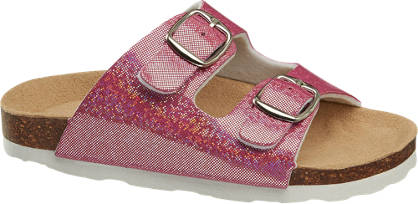 Cupcake Couture Sparkle Footbed Sandal