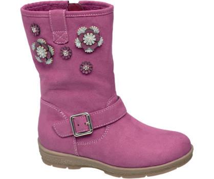 Cupcake Couture Toddler Girl Flower Detail High Leg Boots