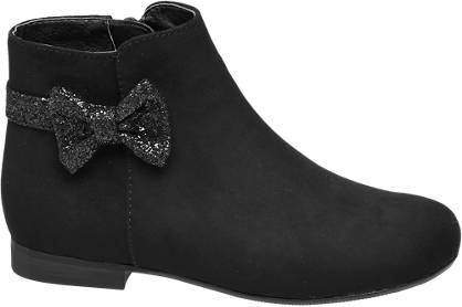 Cupcake Couture Toddler Girl Glitter Bow Ankle Boots