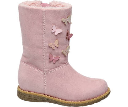 Cupcake Couture Toddler Girl High Leg Butterfly Boots