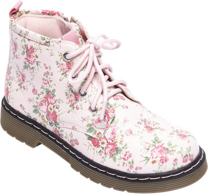 Cupcake Couture Witte boot bloemen print
