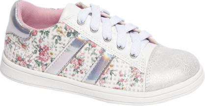 Cupcake Couture Witte sneaker bloemen print