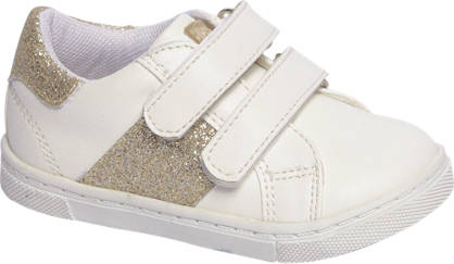 Cupcake Couture Witte sneaker glitters